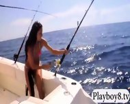Hot Badass Girls Enjoyed Surfing And Deep Sea Fishing - scene 11