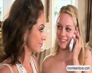 Eva Notty And Allie Rae Shared On One Lucky Hard Cock - scene 1