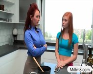 Stepmom Teaches Teen How To Fuck Good Like A Real Pro - scene 1