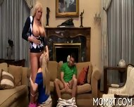 Enchanting Threesome Pleasuring - scene 3