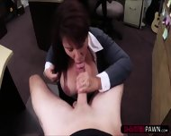 Brunette Milf Needs Money To Bail Her Husband And Sells His Stuff - scene 7