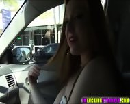Redhead Farrah Gets Picked Up By A Random Guy And Becomes Generous - scene 4