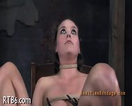 Painful Clamping For Beauty S Tits - scene 9