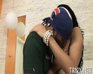 Teen Tranny Penetrated & Creamed - scene 7