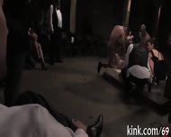 Racy Gangbang Punishment - scene 10