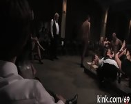 Racy Gangbang Punishment - scene 11