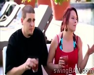 Group Of Swingers Have A Party Outdoors In This Xxx Reality Show - scene 8