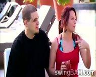 Group Of Swingers Have A Party Outdoors In This Xxx Reality Show - scene 5