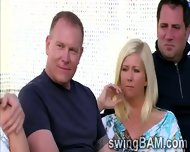 Group Of Swingers Have A Party Outdoors In This Xxx Reality Show - scene 6