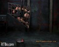 Slave Gets Ardous Caning - scene 11