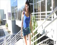 Sunny Babe Poses On Cam - scene 1