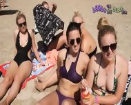 Bikini Chat With A Group Of Northern Girls On Vacation - scene 10