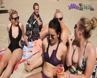 Bikini Chat With A Group Of Northern Girls On Vacation - scene 11