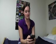 Nice College Girls Copulating From Pov - scene 8