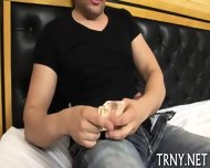 Teen Tranny Serves Mighty Dick - scene 2