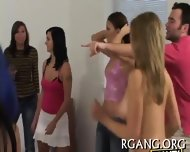 Chicks Bang Hard In Group - scene 1