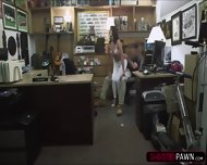 Douche Bag Customers Wife Gets Horny With Shawn The Shop Owner - scene 6