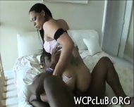 See Hot Interracial Screw - scene 8