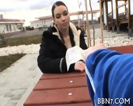 Beauty Lured To Have Public Sex - scene 11