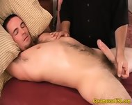 Amateur Straight Guy At His Gay Massage - scene 12