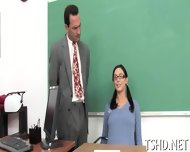 Teacher Shafts Student - scene 2
