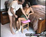 Lady Is Stripping To Screw - scene 8
