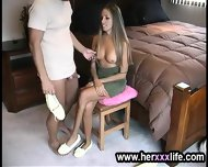 Lady Is Stripping To Screw - scene 4
