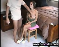 Lady Is Stripping To Screw - scene 6