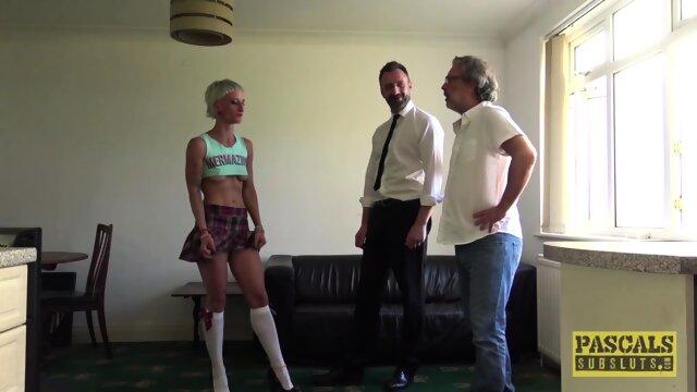 PASCALSSUBSLUTS – Babe Luna Toxxxic Fed Jizz After BDSM Fuck