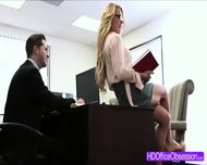Horny Secretary Corinna Blake Gets Fucked Hard In The Office - scene 1