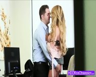 Horny Secretary Corinna Blake Gets Fucked Hard In The Office - scene 4