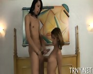 Teen Tranny Plays Ass Games - scene 11