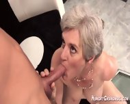 70plus Granny Dicked By Young Guy - scene 9