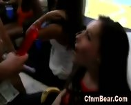 Cfnm Amateur Sucking Stripper S Big Cock At Party - scene 2