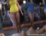 College Girls Getting Nasty Together At A Hazing Party - scene 2