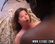 Mature In Pantyhose Prefers Brown Dick - scene 12