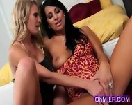 Sexy Brunette Milf Getting Her Sweet Ass Licked - scene 1
