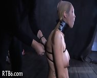 Stormy Caning For Lusty Chick - scene 6