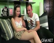 Lusty Devouring Of Virgin Babe - scene 3