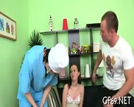 Lusty Devouring Of Virgin Babe - scene 4