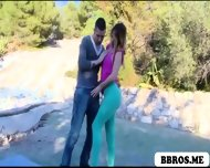 Amazing Aleska Having Sex Out In The Open Air - scene 2