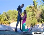 Amazing Aleska Having Sex Out In The Open Air - scene 3