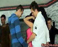 Horny Bisex Dudes Stroke - scene 2