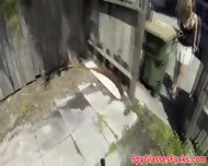Picked Up Skank Drilled Hard On Spycam - scene 4