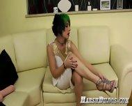 Latosha Toys Her Pussy With Giant Dildo - scene 2