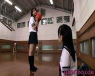 Tiny Japanese Schoolgirls Love Sharing Cock - scene 1