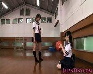 Tiny Japanese Schoolgirls Love Sharing Cock - scene 2