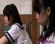 Tiny Japanese Schoolgirls Love Sharing Cock - scene 3