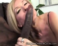 Beautiful Mature Blondie Gets Smashed By A Huge Black Bone - scene 4