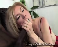 Beautiful Mature Blondie Gets Smashed By A Huge Black Bone - scene 5